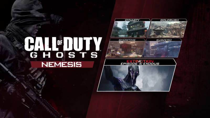 DLC 'Nemesis' do Call of Duty: Ghosts trafi na Xboxa już 5 sierpnia