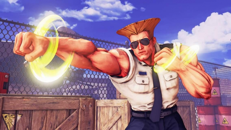 Guile na nowych screenshotach ze Street Fighter V!
