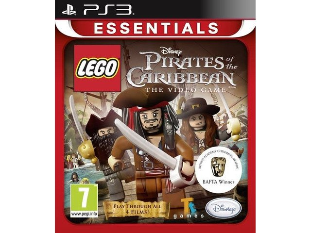 Lego Piraci z Karaibów Essentials PS3 [PL]