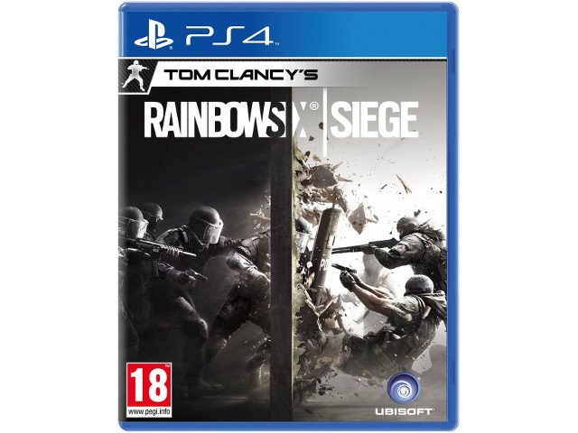 Rainbow Six Siege PL PS4