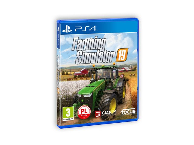 GRA FARMING SIMULATOR 19 PS4