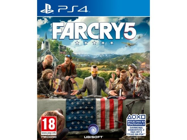 Far Cry 5 PL PS4