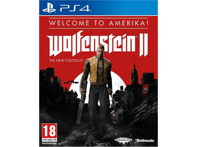 Wolfenstein II The New Colossus - Edycja Welcome to Amerika! PL PS4
