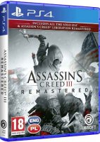 Assassin's Creed III Remastered + DLC + Liberation Remaster PL PS4