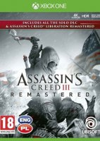 Assassin's Creed III Remastered + DLC + Liberation Remaster PL XONE