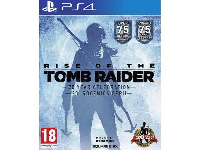 Rise of the Tomb Raider 20 Rocznica Serii PL PS4