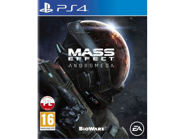 Mass Effect Andromeda PL PS4